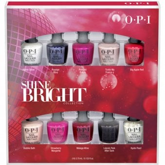 opi shine bright 2020 holiday collection opi